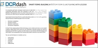 SMART FORMS: BUILDING A CUSTOM FORM IS LIKE PLAYING WITH LEGOS