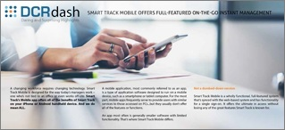 SMART TRACK MOBILE OFFERS FULL-FEATURED ON-THE-GO INSTANT MANAGEMENT