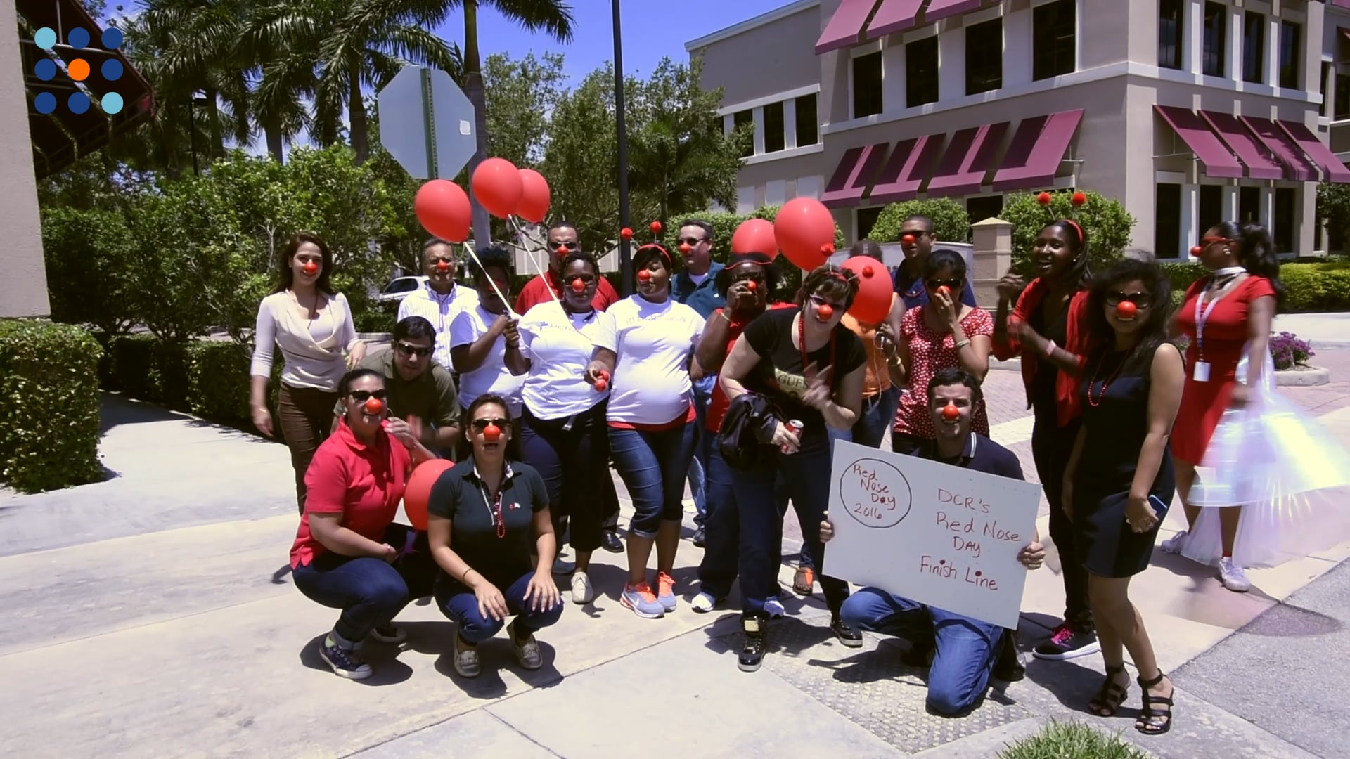 DCR Celebrates Red Nose Day 2016