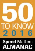 Spend Matters 50 List