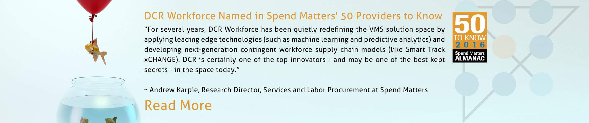 Spend Matters' 50 Providers