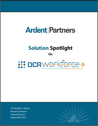 Ardent Partners - Solution Spotlight on DCRWorkforce